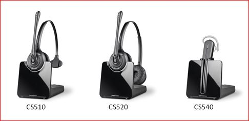 CS 500 series wireless headsets in stock